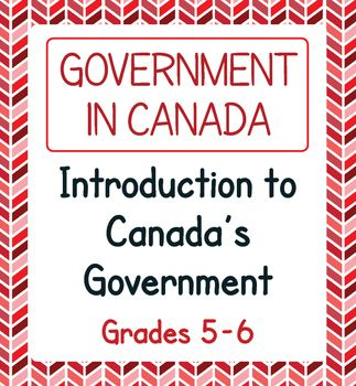 Canadian Government Expanded Introduction Reading Passages