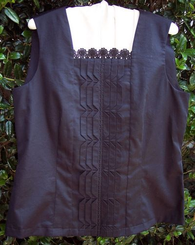 Susan Stewart Designs - heirloom sewing Blouse for a woman