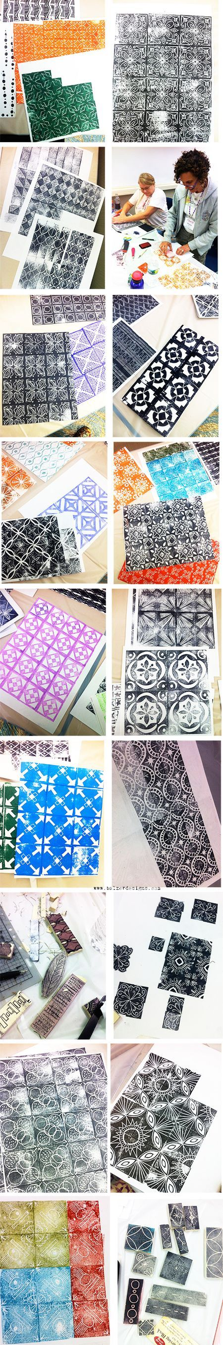 CREATE New Jersey: Carving Stamps for PatterningJennifer Ahlstrom