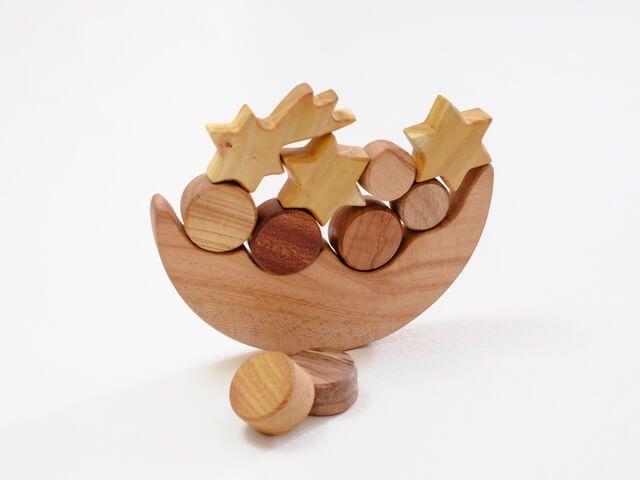 joc de echilibru din lemn