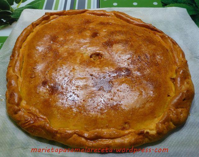 """Empanada de Pulpo """"Robado"""" - Marieta pásame la receta #elsecretoestáenlamasaTS   La Cocina Typical Spanish"""
