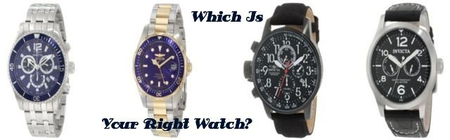 A Guide To Pick A Right Watch From The Invicta Watch Collections