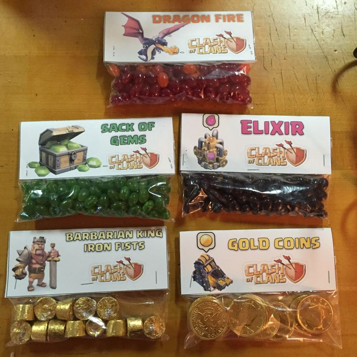 A personal favorite from my Etsy shop https://www.etsy.com/listing/231937647/clash-of-clans-survival-kit-8-unique