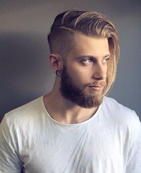 45 shaved hairstyles for men going professional  long