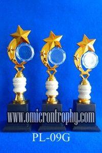 Jual Trophy Piala Penghargaan, Trophy Piala Kristal, Piala Unik, Piala Boneka, Piala Plakat, Sparepart Trophy Piala Plastik Harga Murah Agen Jual Piala Trophy Marmer Murah-PL-09G
