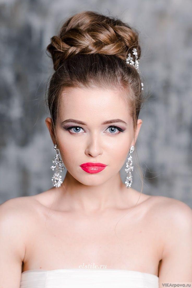 404 best Peinados para Novias images on Pinterest | Bridal ...