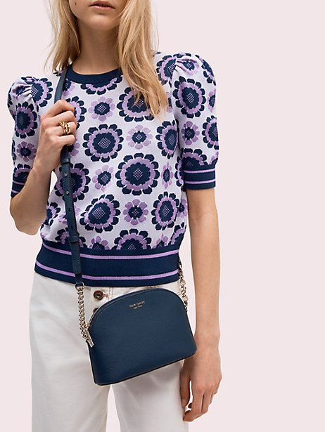 6aeb592cb0c Kate Spade Sylvia Small Dome Crossbody, Blazer Blue in 2019 ...