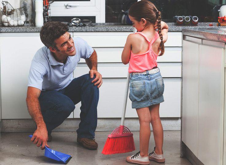 ako naučiť deti upratovať?