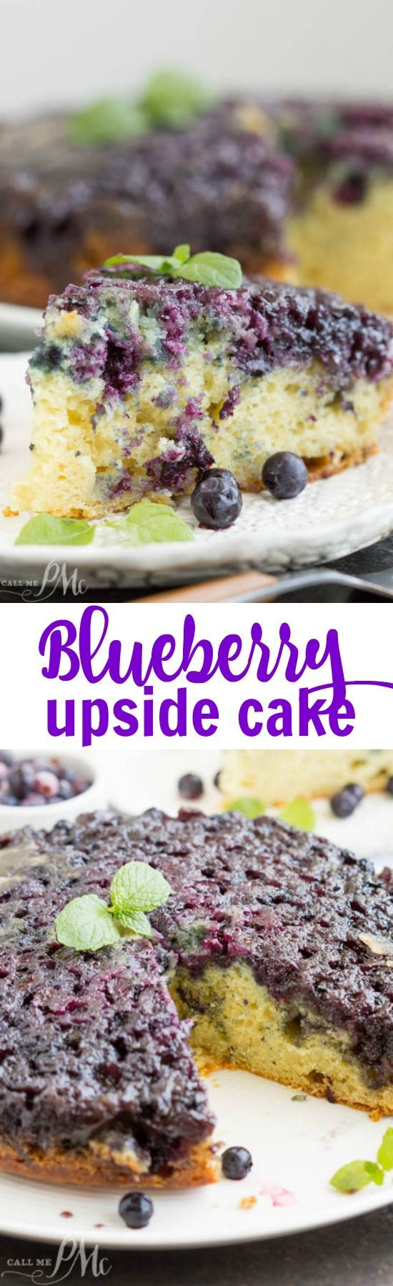 Blueberries are in season and now is the time to make this delicious #cake! Homemade Blueberry Upside-down Cake http://www.callmepmc.com/homemade-blueberry-upside-down-cake/?utm_campaign=coschedule&utm_source=pinterest&utm_medium=Paula%20%7C%20CallMePMc.com&utm_content=Homemade%20Blueberry%20Upside-down%20Cake