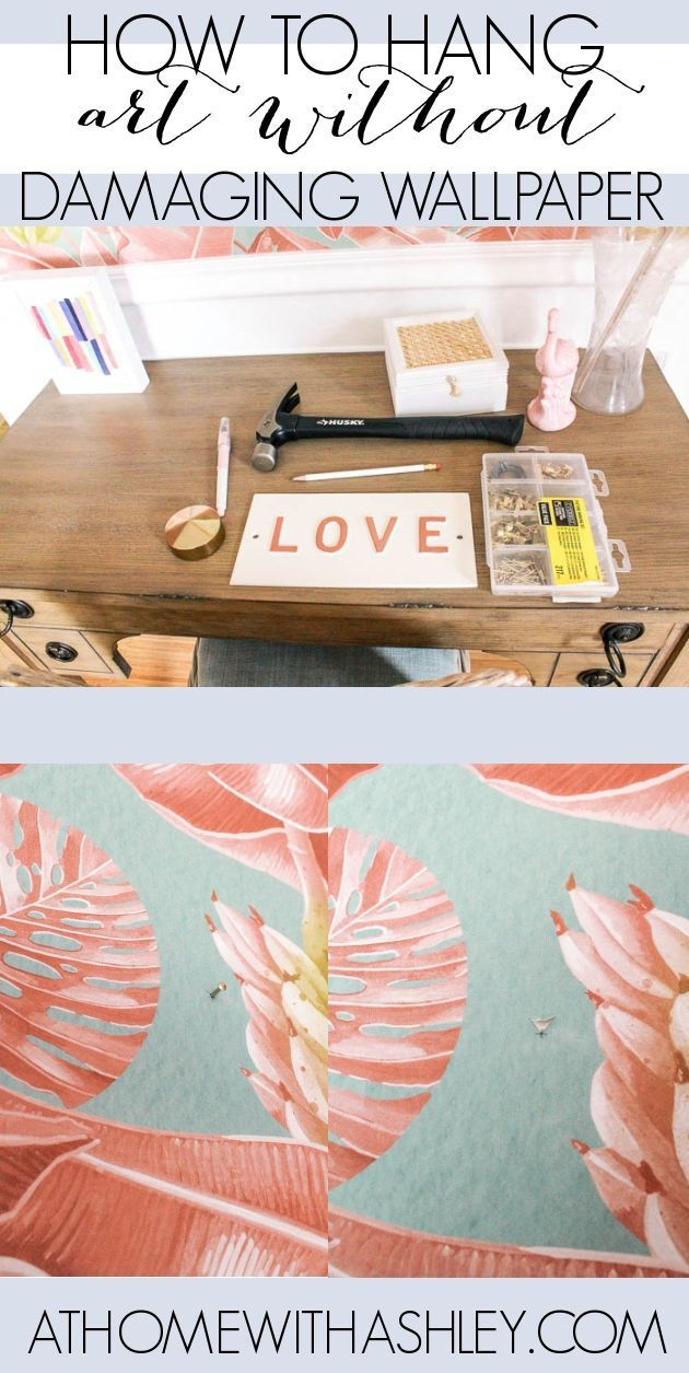 How To Hang Art Without Damaging Wallpaper Hanging Art Decorating Blogs Blogger Decor