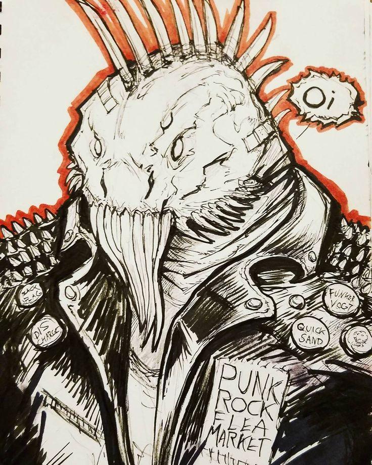 Punk Rockcartoon Bobbydaleearnhardt.com