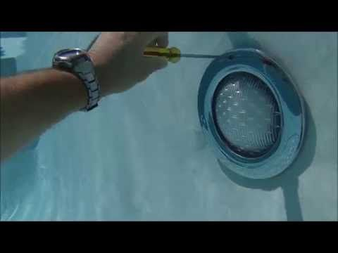 Pool Light Niche Underwater Video Of