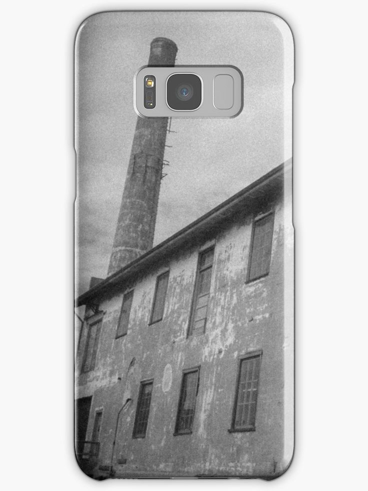 """""""Alcatraz Ruins: Storehouse and Power Plant Chimney"""" Samsung Galaxy Cases & Skins by ThreeEyedKat 