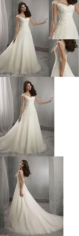 Wedding Dresses: New White/Ivory Wedding Dress Bridal Gown Custom Size 6-8-10-12-14-16 18++++ -> BUY IT NOW ONLY: $105.0 on eBay!