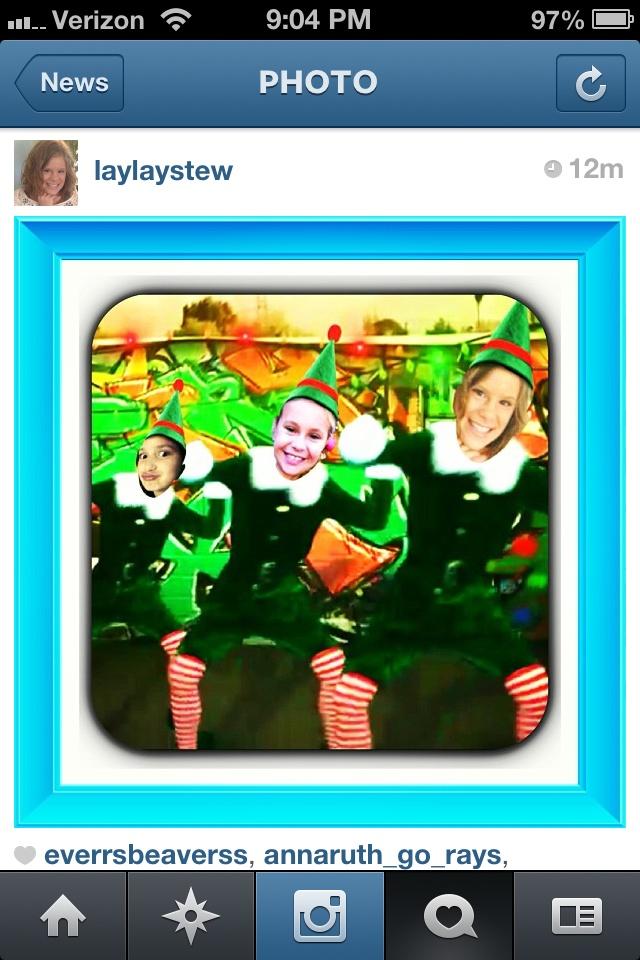 Elf yourself!! Get the app!!