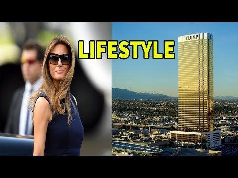 Melania Trump Lifestyle,Net Worth,Christmas,House,Cars,Family,Speech,Int...