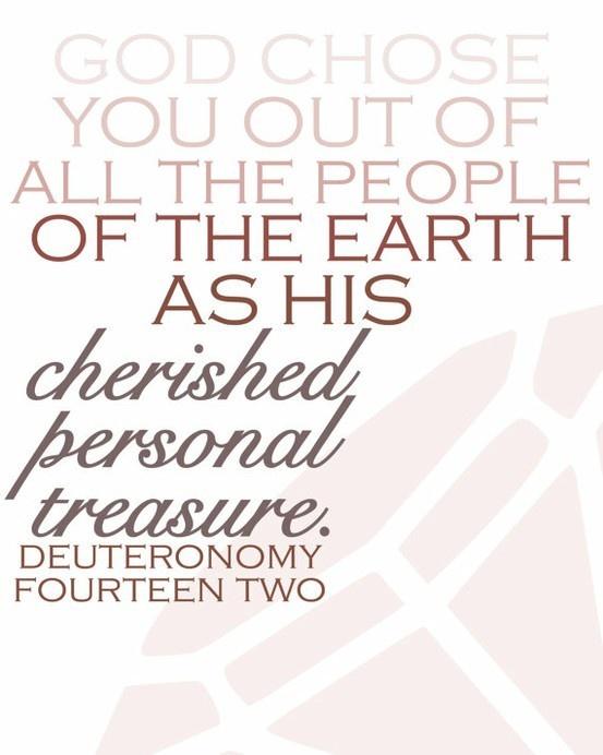 JP: Deuteronomy 14: 2