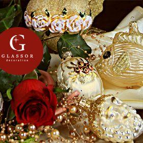 Impozantní baroko - Vánoční ozdoby trendy 2014 | Glassor.cz