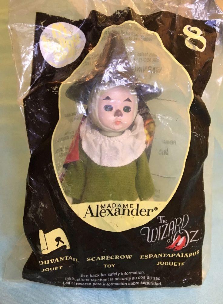 Madame Alexander Doll McDonalds 2008 The Wizard of Oz Scarecrow #8 NIP    eBay