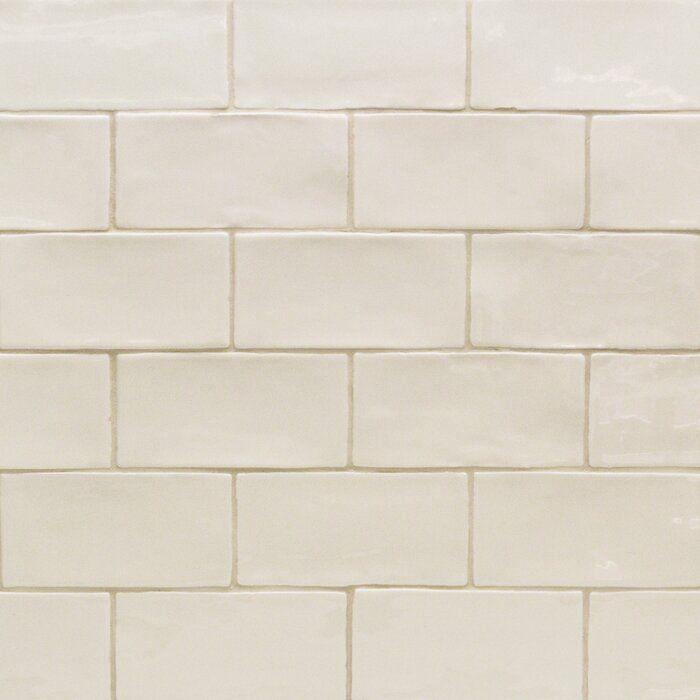 catalina 3 x 6 ceramic subway tile in