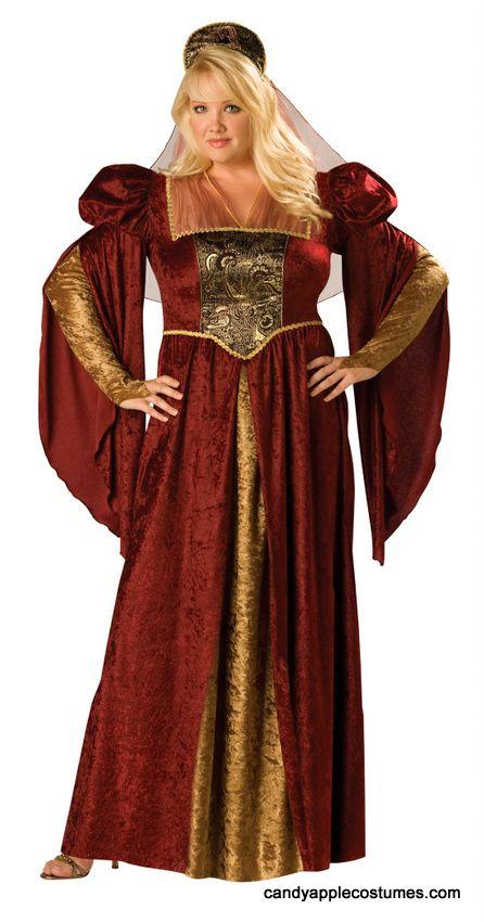 Medieval fancy dress costumes plus size