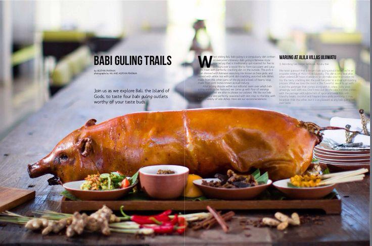 Babi Guling or Balinese Roasted Pig #ttmygy - Nov 2014