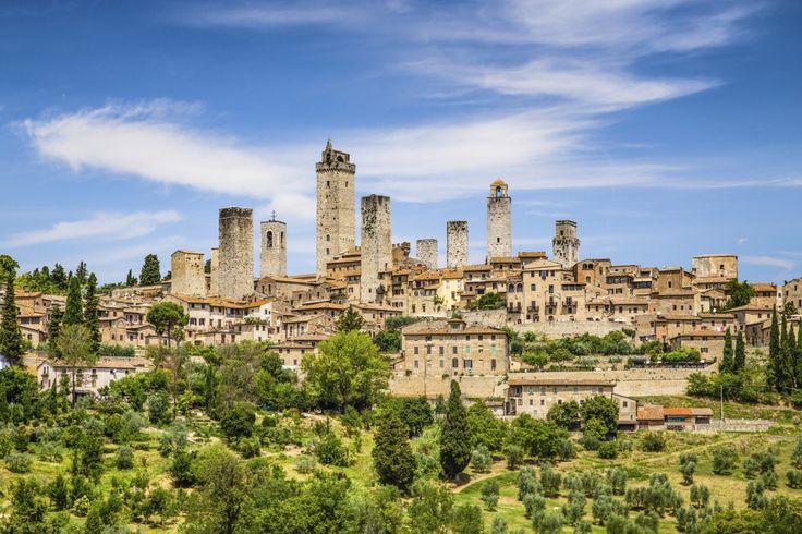 Algumas das restantes famosas torres medievais de San Gimignano (foto: iStock)