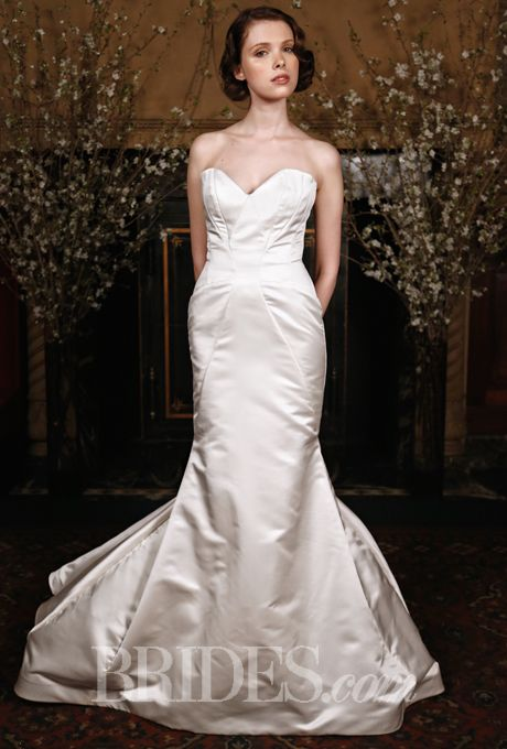 Brides.com: Austin Scarlett - Spring 2015%0AWedding dress by Austin ScarlettPhoto: Thomas Iannaccone
