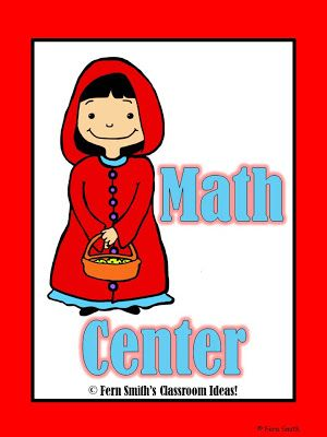 Little Red Riding Hood Activities Including Two FREEBIES! ~By www.FernSmithsClassroomIdeas.com