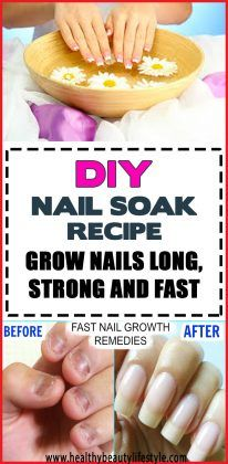 DIY Nail Soak Recipe To Develop Nails Lengthy, Robust And Quick – Web page 4