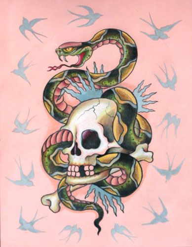 Ed Hardy tattoo