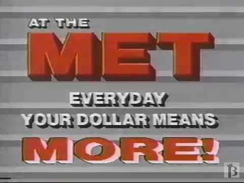 MET Store Commercial 1988