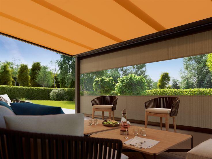 Το markilux 879 είναι διαθέσιμο σε τέσσερα διακριτικά standard και lounge χρώματα.