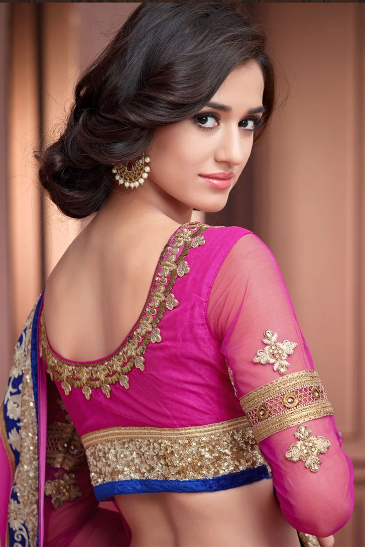 Lavishing Pink Color Designer Saree