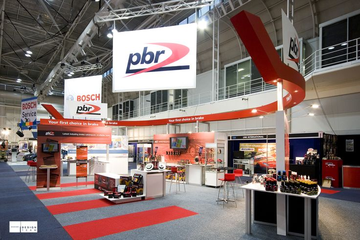 PBR @ AAAE Automotive parts manufacturer PBR communicates an image of innovation, high technology and professionalism