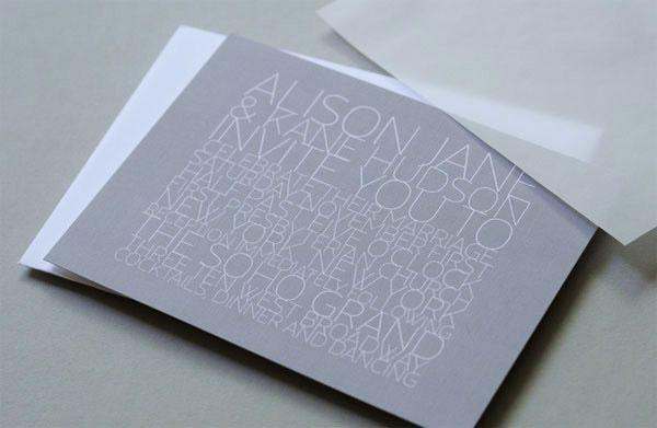30 Beautiful & Creative Invitation Card Designs