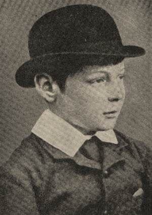 Winston Churchill as a boy in 1884.
