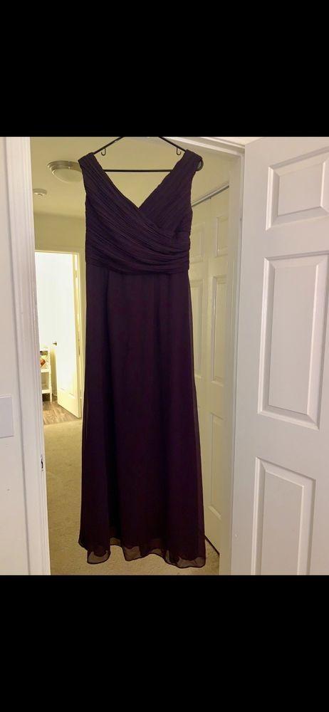 4a798e8fe60 bill levkoff bridesmaid dress Eggplant RN 82955  fashion  clothing  shoes   accessories  weddingformaloccasion  bridesmaiddresses (ebay link)