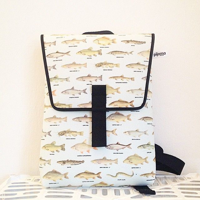 Fish? yes, on this pijama's backpack