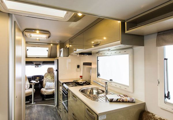 Motorhome interior design google search beautiful rvs for Campervan interior designs