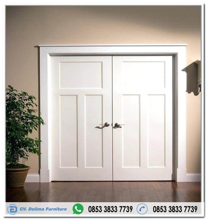 Pintu Rumah Minimalis Duco Putih Jual Daun Pintu Rumah Utama Model Kupu Tarung Minimalis Warna Putih Cat Duco Kusen Pintu Rumah Minimalis Rumah Interior Rumah
