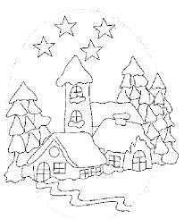 Risultati immagini per disegni paesaggi invernali