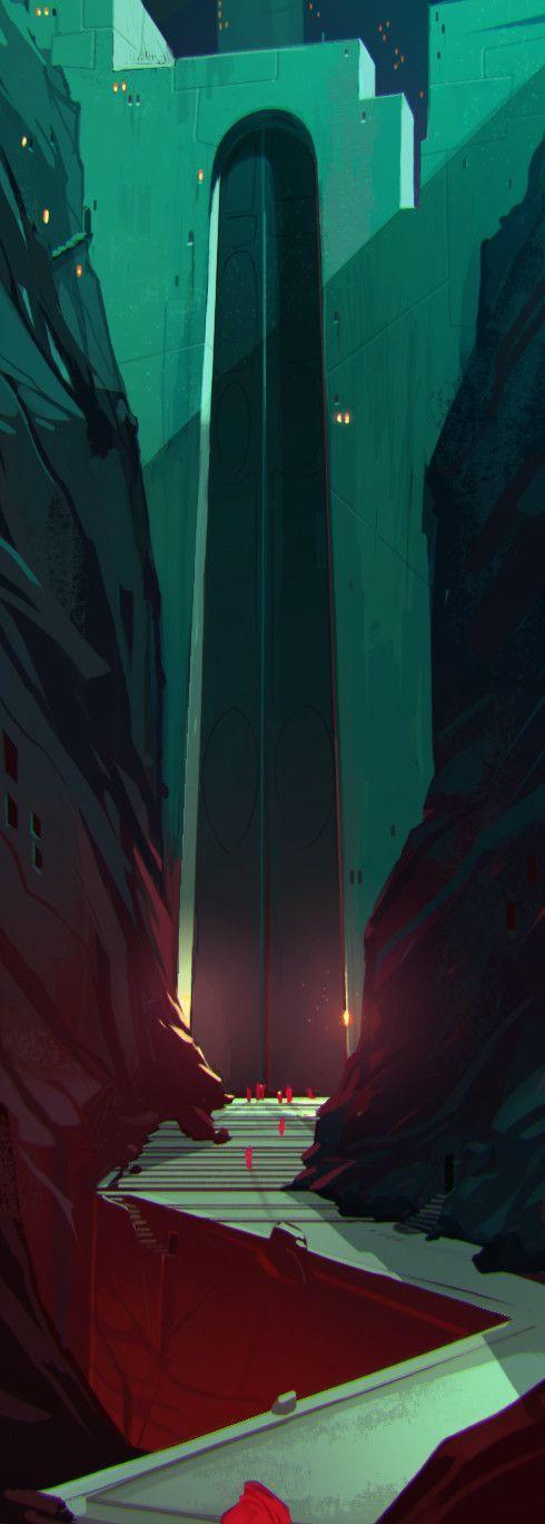 Ritual02, Matteo Bassini on ArtStation at https://www.artstation.com/artwork/G1roB: