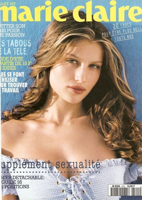 Marie Claire France, July 1995Model: Laetitia Casta