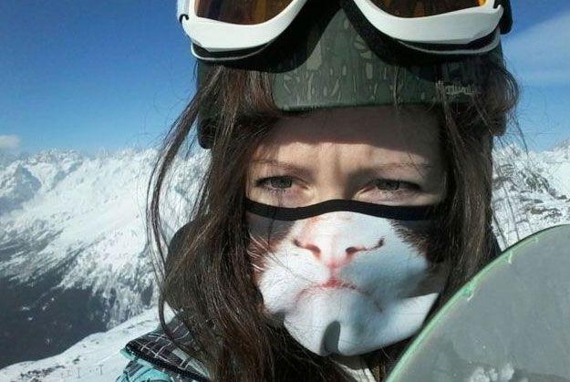 Grumpy Cat Ski Mask! | Animal masks, Cat mask, Winter gear