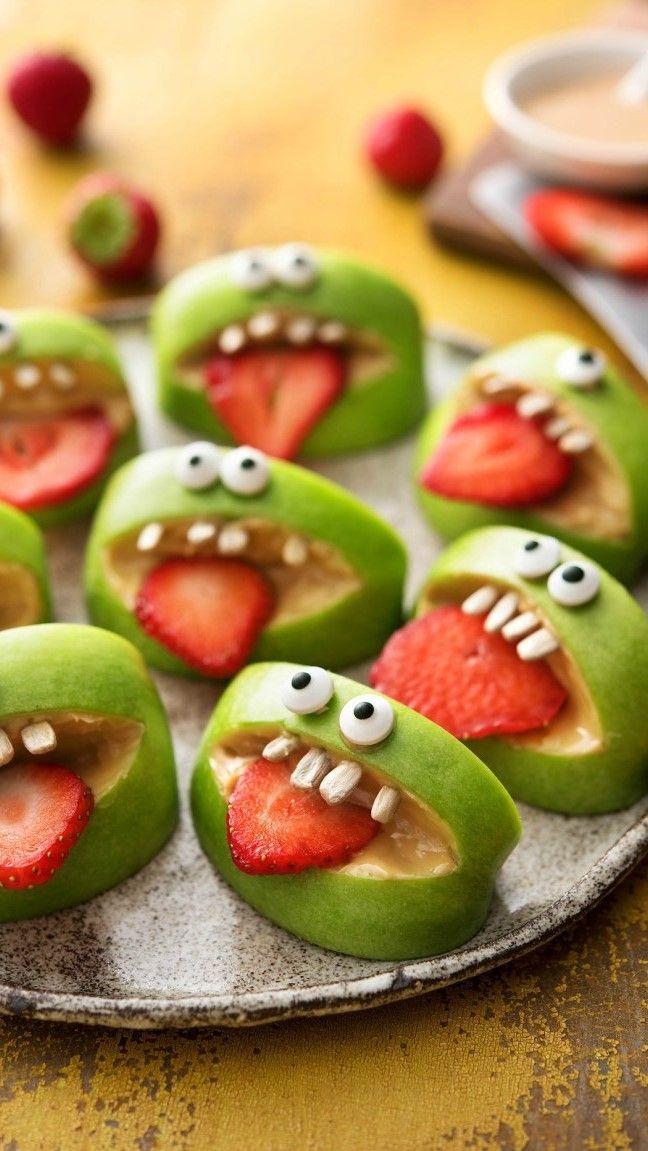 Rezept: Furcht vor Halloween-Snacks – Für Kinder und die ganze Familie Gesund …   – Halloween in Deiner Küche | Gesunde Rezepte zum Gruseln