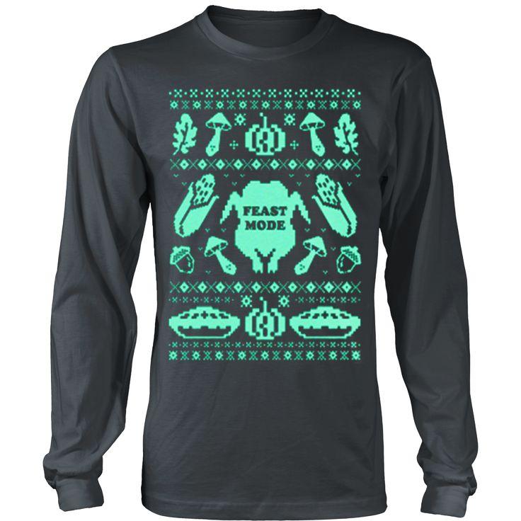 Feast Mode Thanksgiving Ugly Christmas Sweatshirt