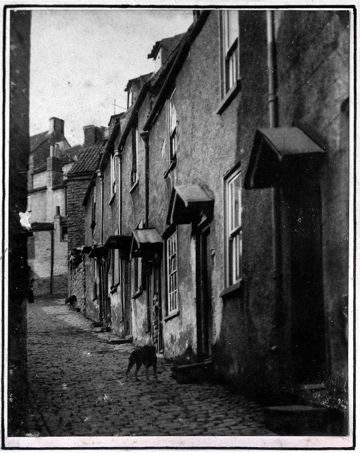A street in Pill, 1927.
