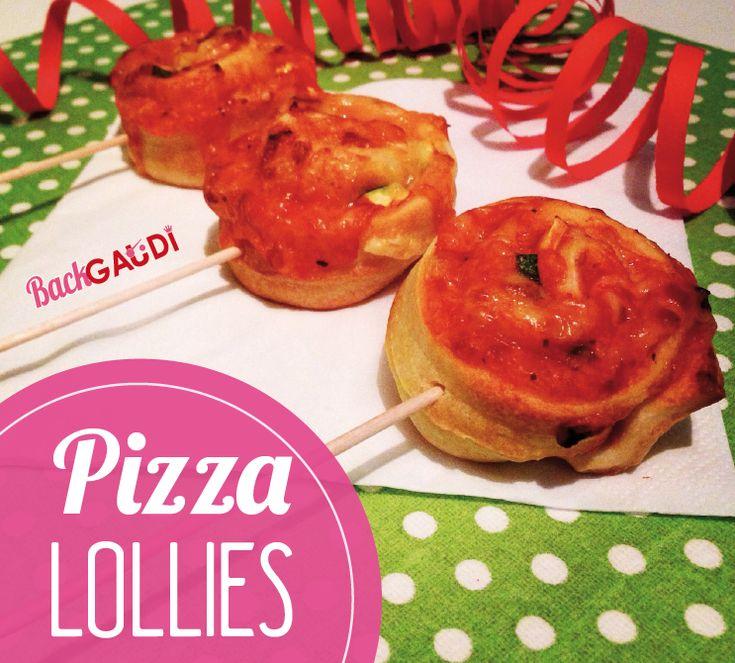 BackGaudi: Pizza-Lollies