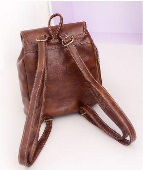 Женский кожаный рюкзак,портфель коричневый Днепропетровск - изображение 5